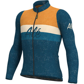 Alé Cycling Classic Storica Maillot À Manches Longues Homme, petrol/orange